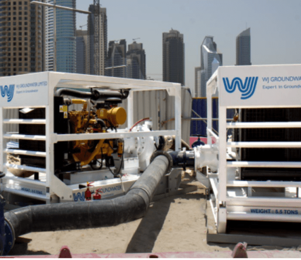 Sewage Bypass at Dubai Downtown