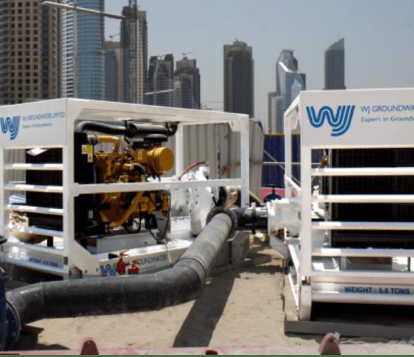 Sewage Bypass at Dubai Downtown