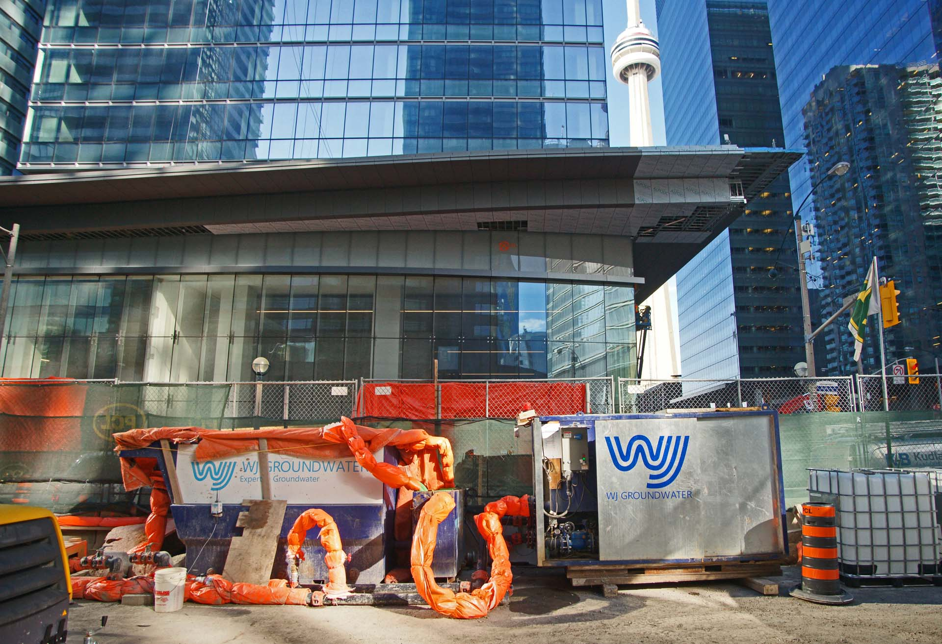 High rise dewatering by WJ Canada